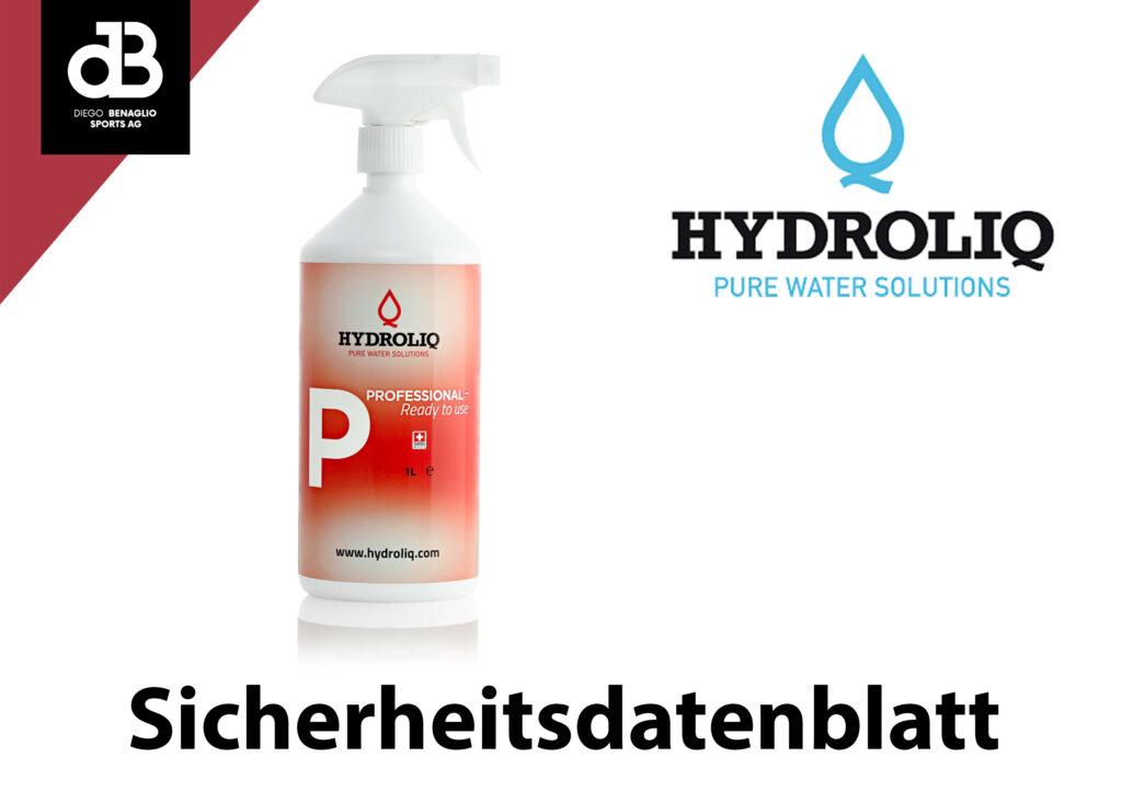 Hydroliq Flächendesinfektion (Sicherheitsdatenblatt)