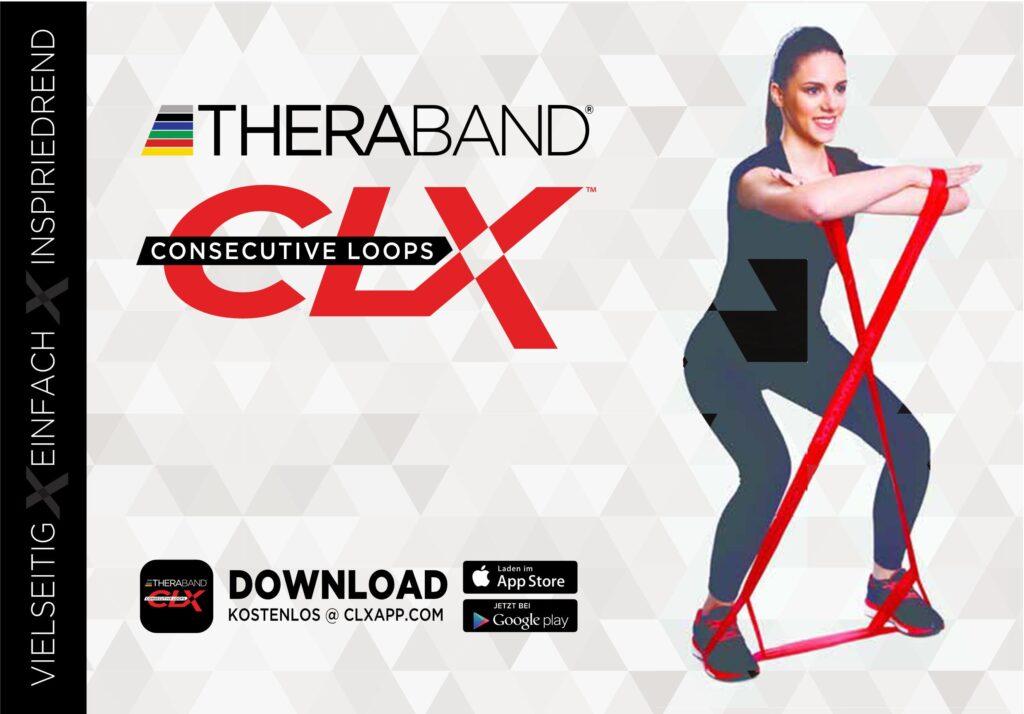 Übungsanleitung TheraBand (CLX) (Deutsch)